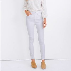 """WT Madewell 10"""" High-Rise Skinny Jeans"""